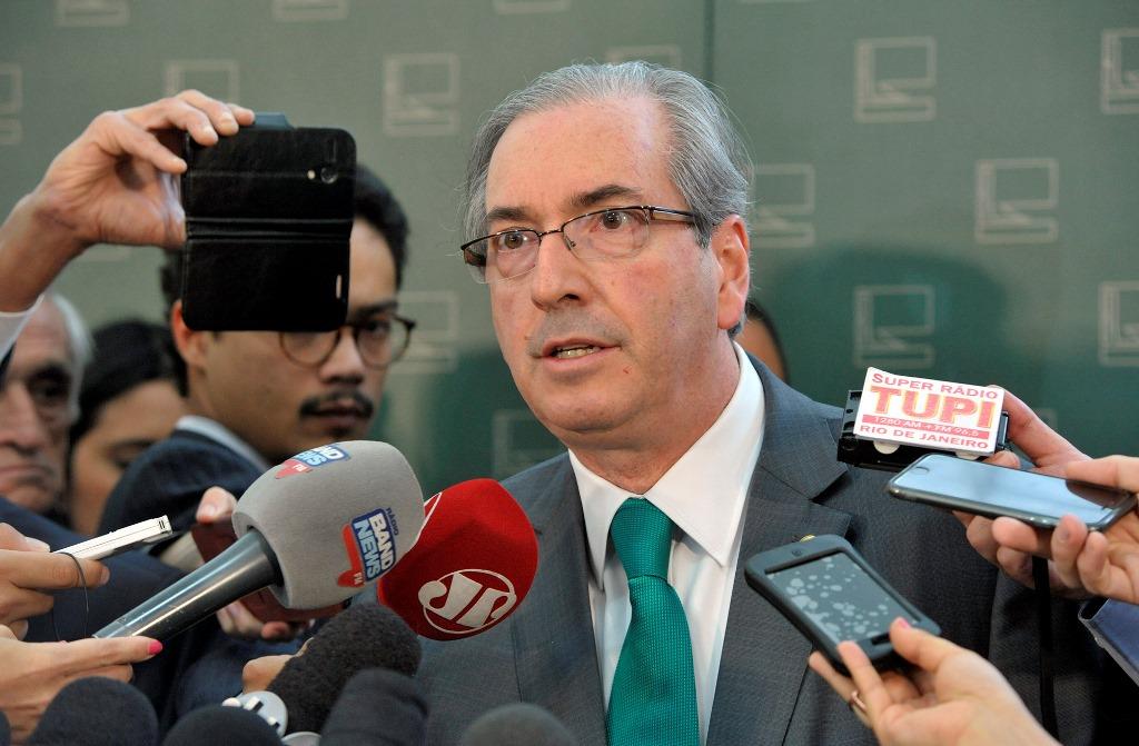 Eduardo Cunha espera decisão rápida do Senado sobre o impeachment