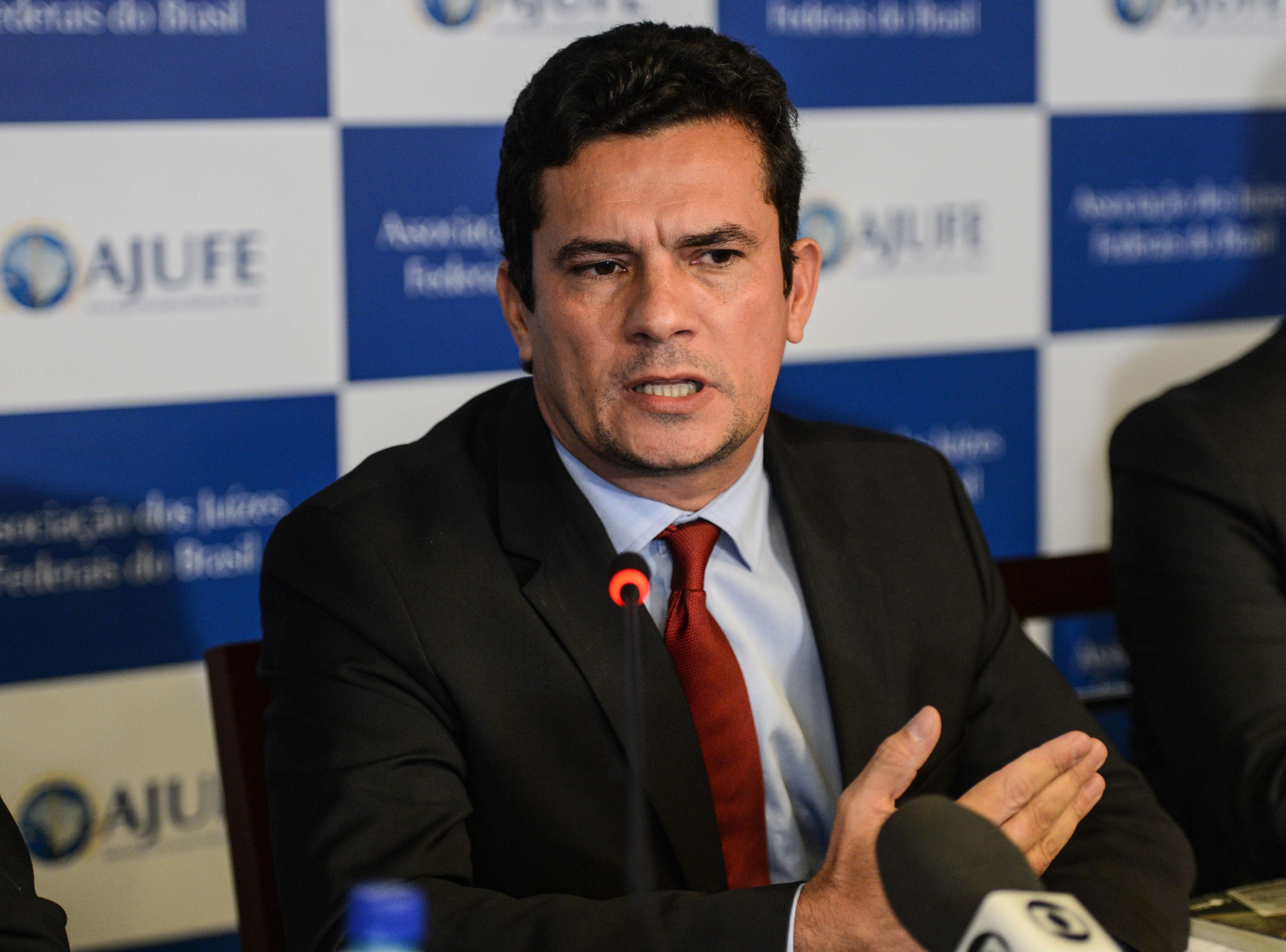 Sérgio Moro defende publicidade de processos da Operação Lava Jato