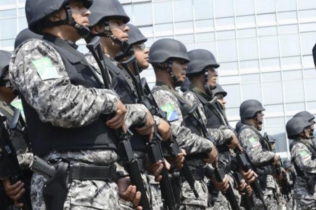 Força Nacional reforça patrulhamento em Santa Cruz (RN)