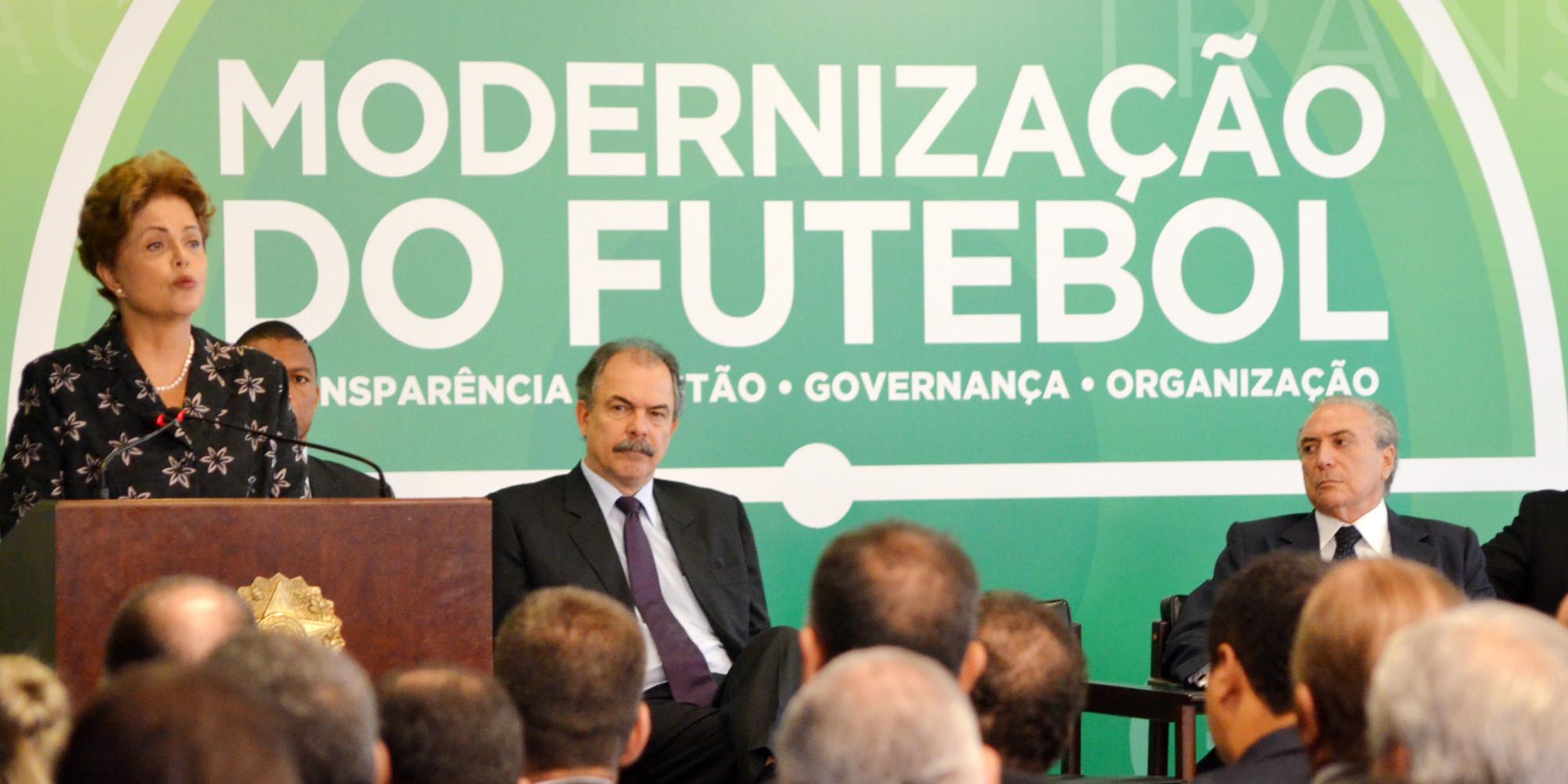 MP do Futebol é sancionada com vetos