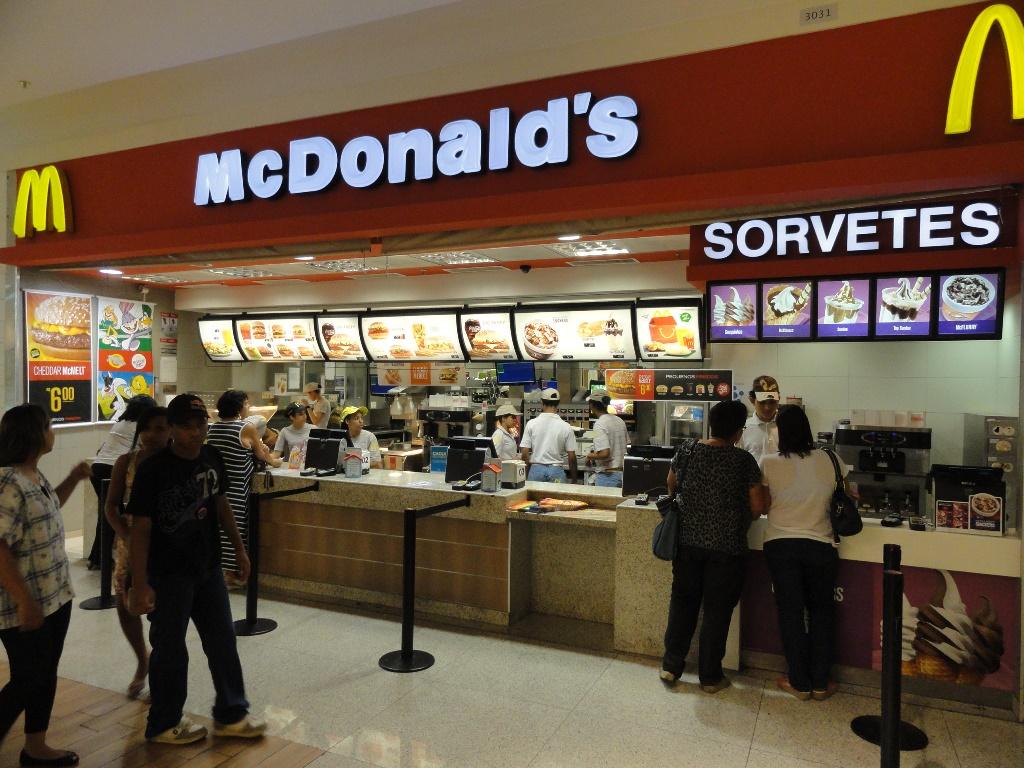 McDonald's supera estimativas de vendas no 1T18