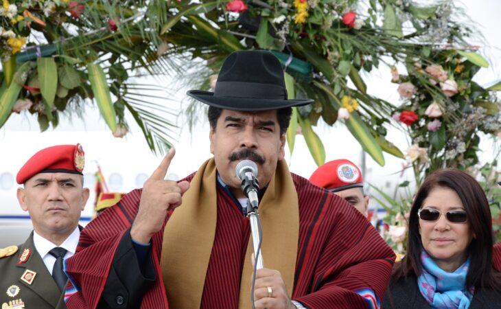 Maduro é perseguido por multidão furiosa na Venezuela