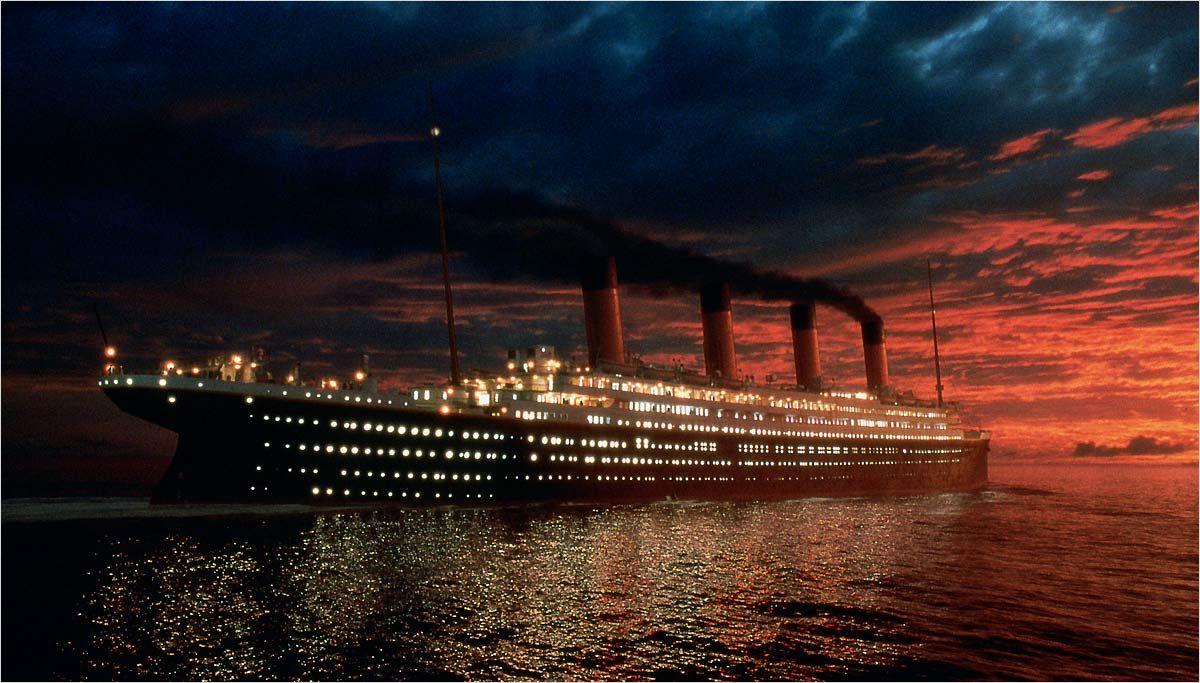Cardápio de última refeição do Titanic vai a leilão
