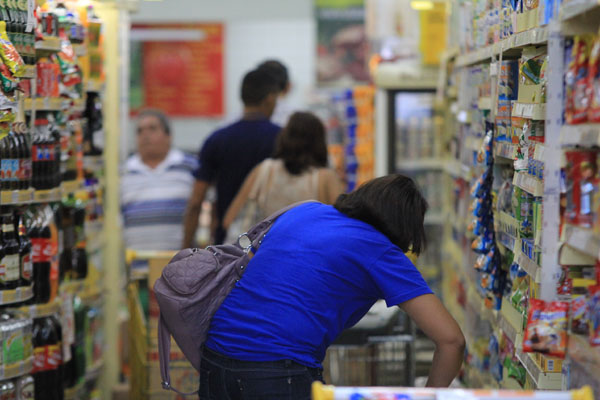 Em 2013, comércio do RN representou 6,4% do faturamento do Nordeste