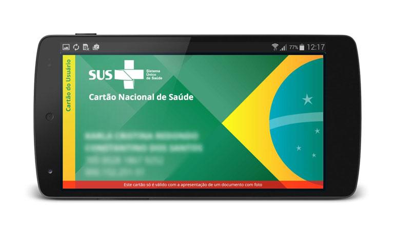 Ministério da Saúde lança Cartão do SUS na versão mobile