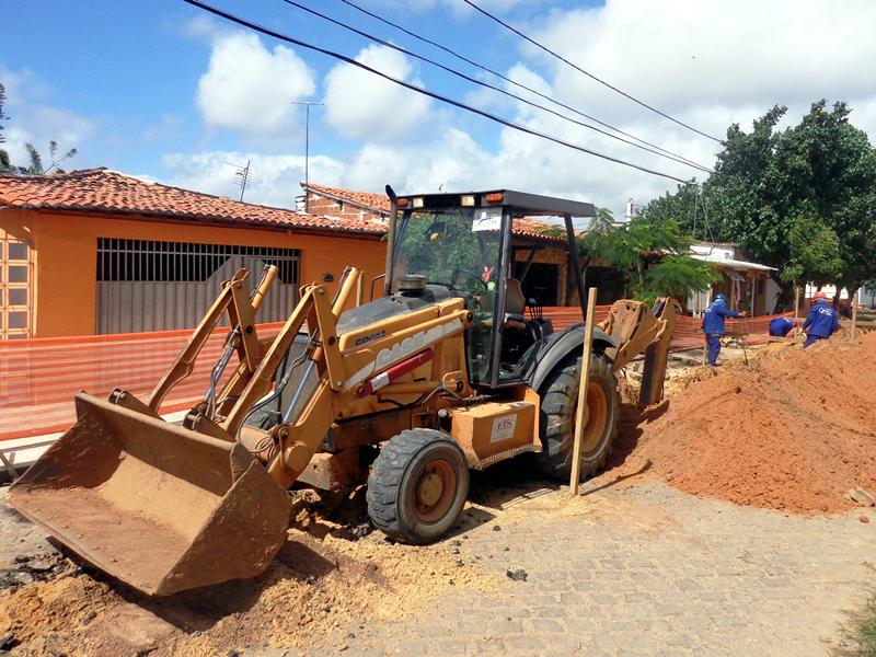 Obra da Caern na Av. Lima e Silva e Rua São José é suspensa