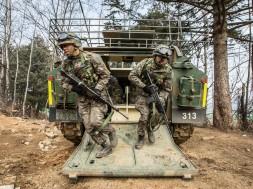 soldados do exercito sul coreano