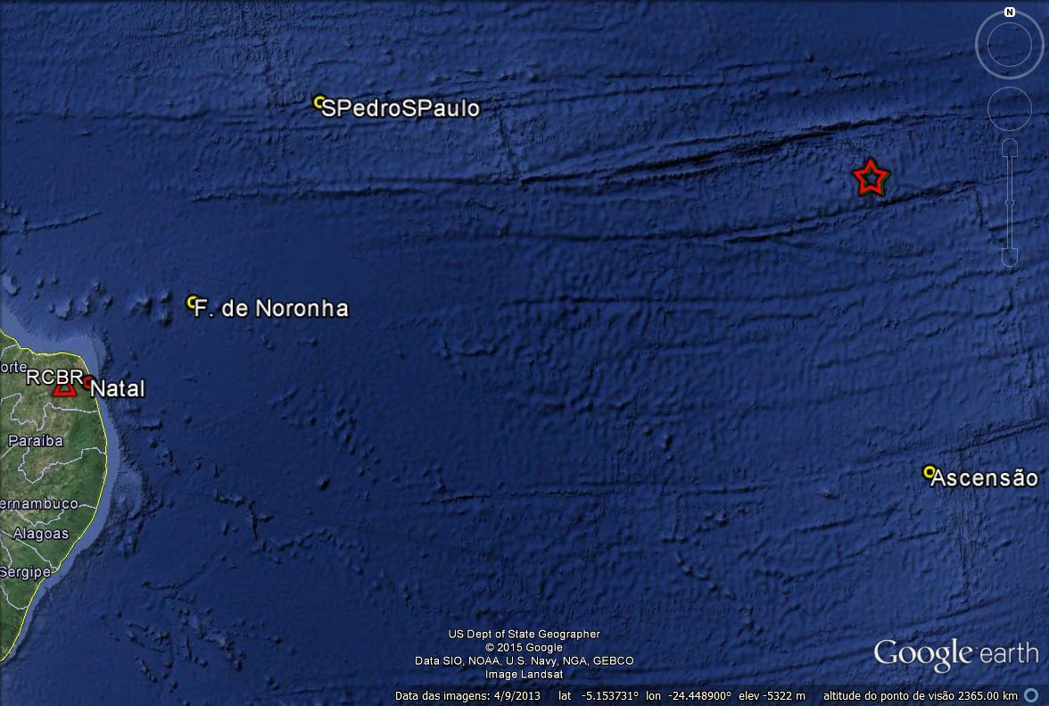Laboratório de Sismologia identifica tremores a 2,2 km de Natal