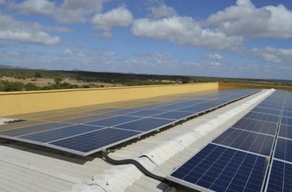 IFRN inaugura sua sexta usina solar no Campus Parelhas