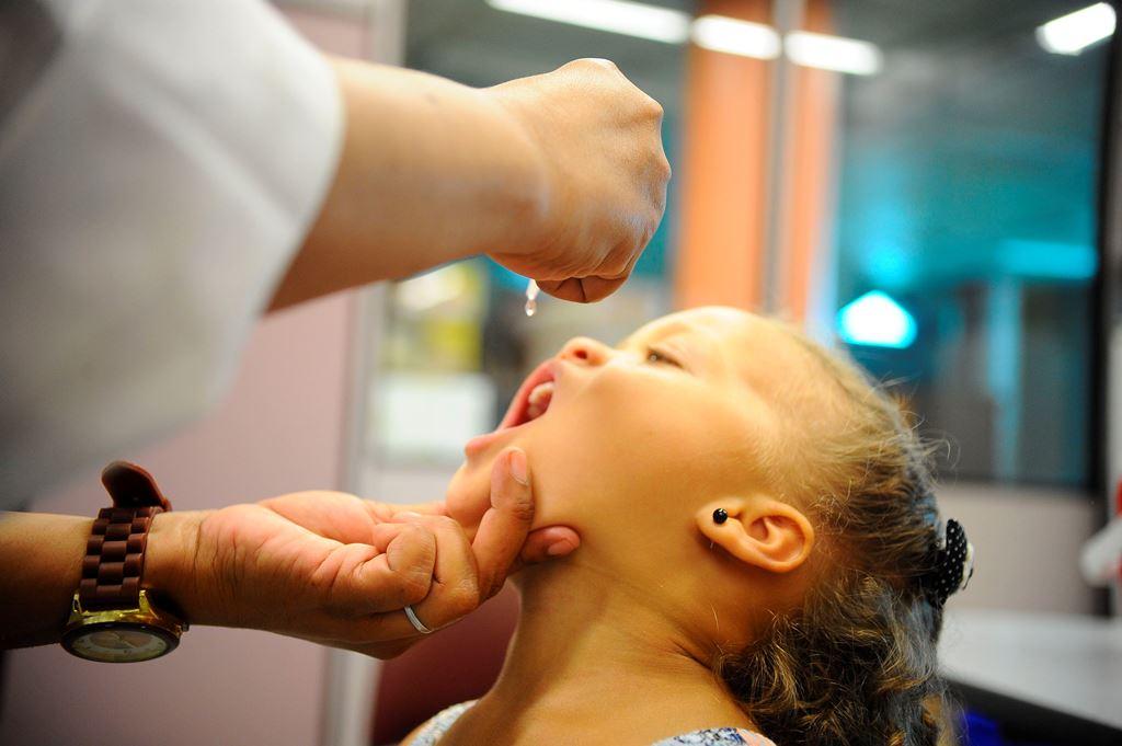 Campanha de Vacinação contra a Pólio termina nesta segunda