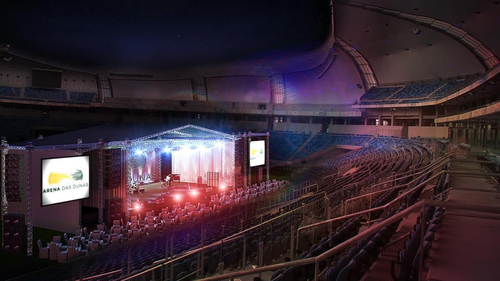 Em formato inédito, Arena das Dunas recebe shows de Fábio Jr e José Augusto