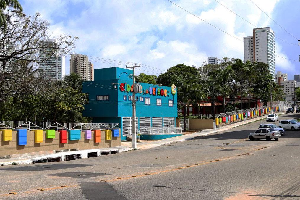 Cidade da Criança funciona em horário diferenciado até 31 de janeiro