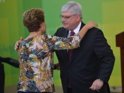 Dilma e Janot