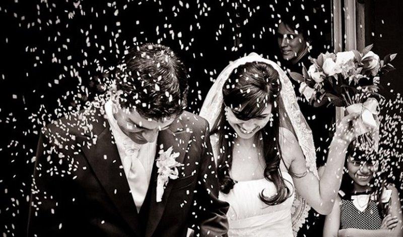 Curiosidade: Por que se joga pó de arroz em recém casados?