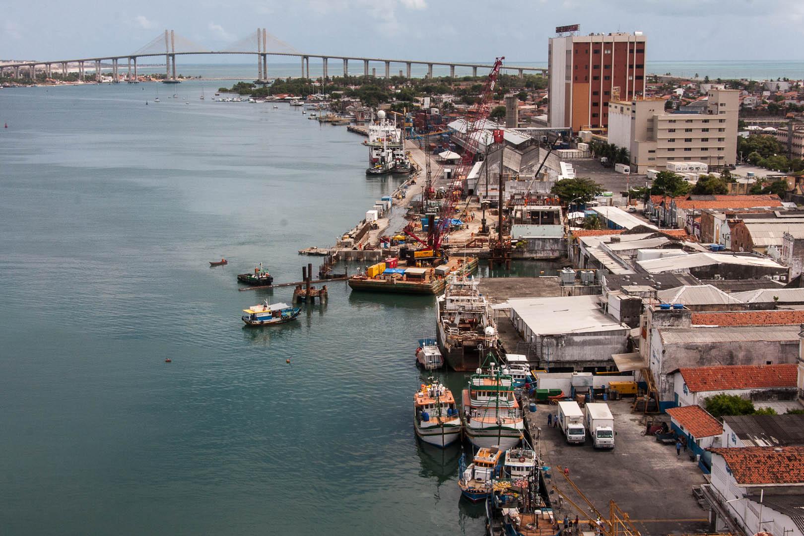 Porto de Natal vai ganhar um 'Dique Flutuante' orçado em 18 milhões