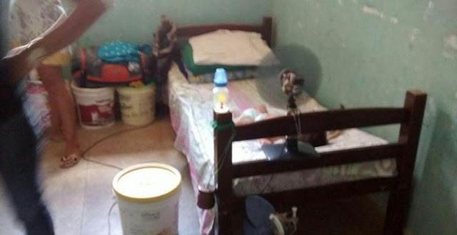 Bebês são encontrados morando dentro de celas do CDP em Mossoró