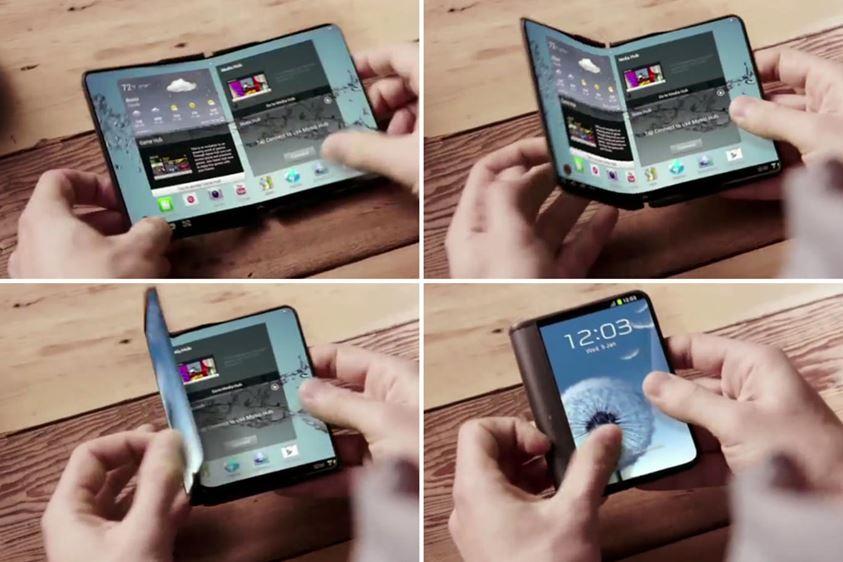 Samsung irá lançar celular com tela dobrável em 2016