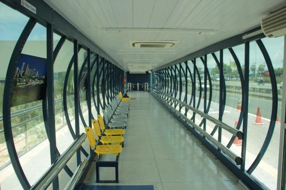 Estações de transferência ganharão novas linhas de ônibus