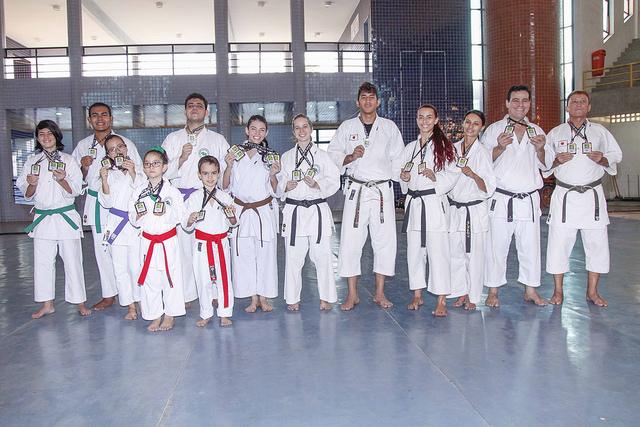 Atletas potiguares de karatê são destaques em Campeonato Brasileiro
