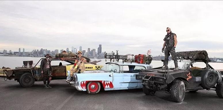 Uber faz corridas com carros do filme Mad Max nos EUA