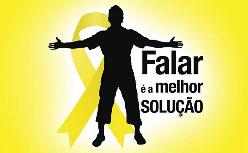 """""""Setembro Amarelo"""": Caminhada nesta terça (15) chama atenção para prevenção ao suicídio"""