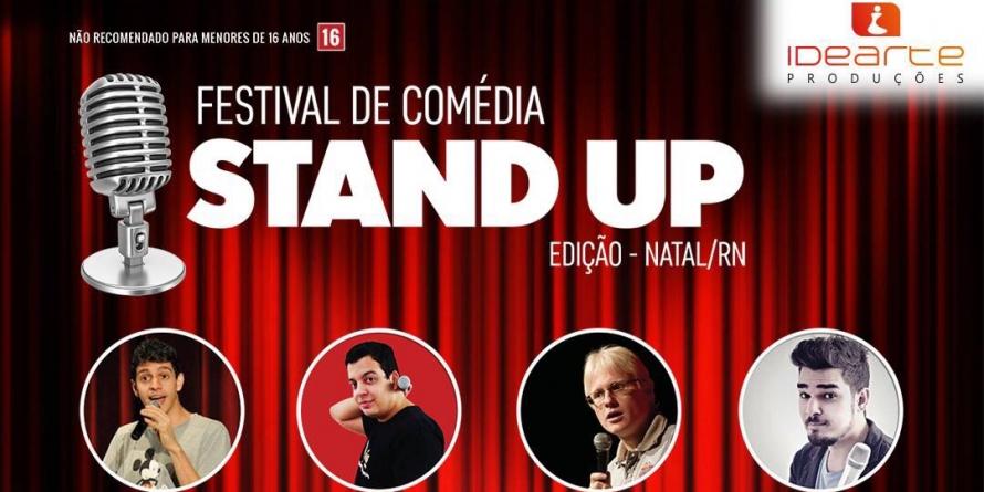 Festival de Stand Up reúne comediantes nordestinos em Natal