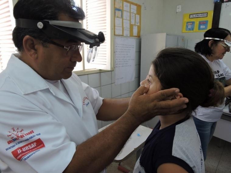 Escolas de Natal recebem ações da campanha de Hanseníase, Verminoses e Tracoma