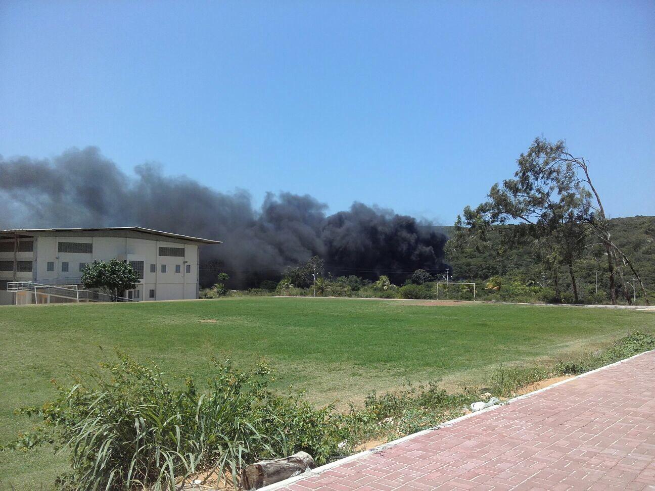 Incêndio nas proximidades da UFRN assusta estudantes