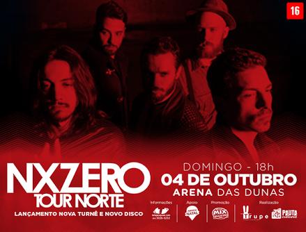 NX Zero traz novo show para Natal em outubro na Arena das Dunas