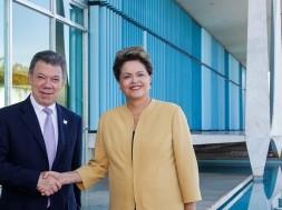 Dilma e Juan Manuel