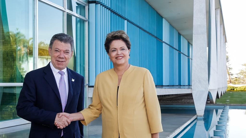 Diante de crise, Dilma quer estreitar comércio com Colômbia