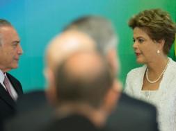 Dilma e Michel Temer