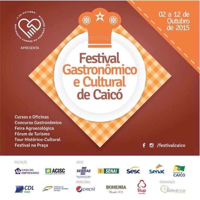 Festival Gastronômico de Caicó mostrará as delícias do Seridó