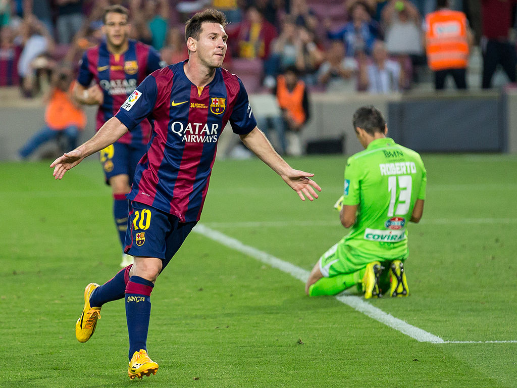 Messi quebra recorde de Gerd Müller ao marcar 366 gols