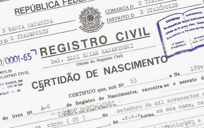 Veja alguns dos nomes mais estranhos registrados no Brasil