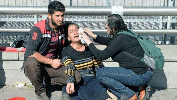 86 pessoas morrem em atentado na Turquia