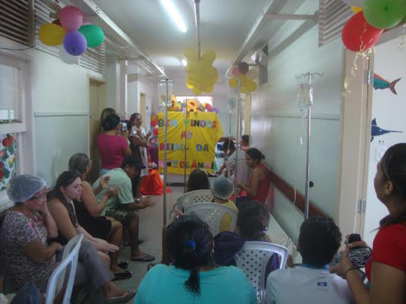 Crianças internadas no Walfredo Gurgel ganham festa nesta quinta-feira (8)