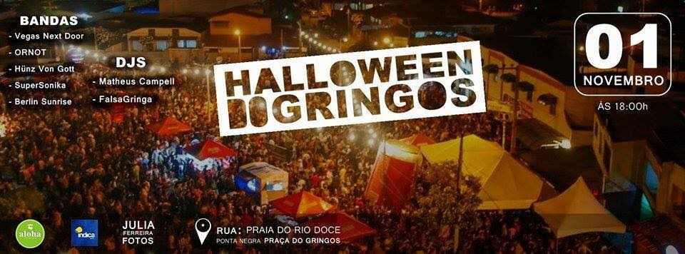 Halloween do Gringos 2015