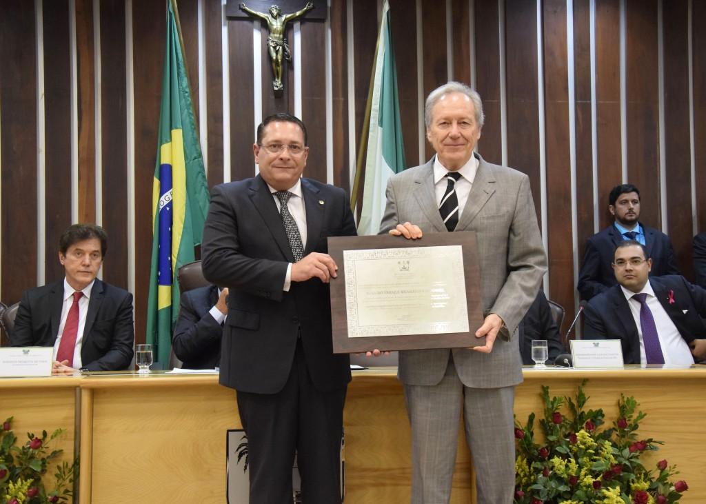 Ministro Ricardo Lewandowski é o mais novo cidadão norte-riograndense