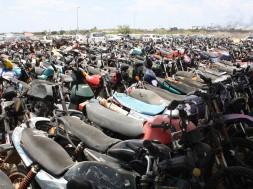 motos apreendidas