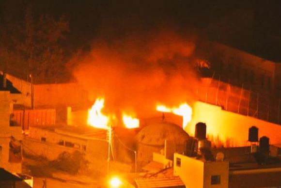 Palestinos ateiam fogo a Túmulo de José na Cisjordânia