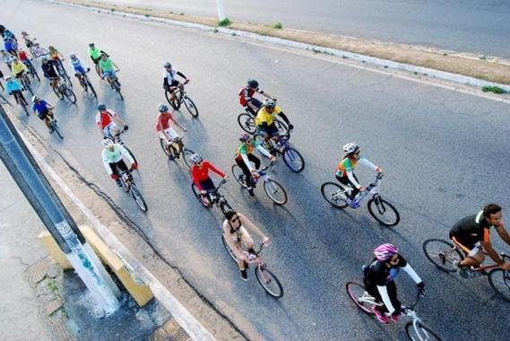 Domingo tem passeio ciclístico na Cidade da Esperança