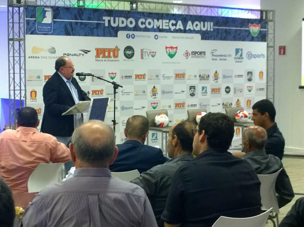 FNF lança plano comercial do Campeonato Potiguar 2016