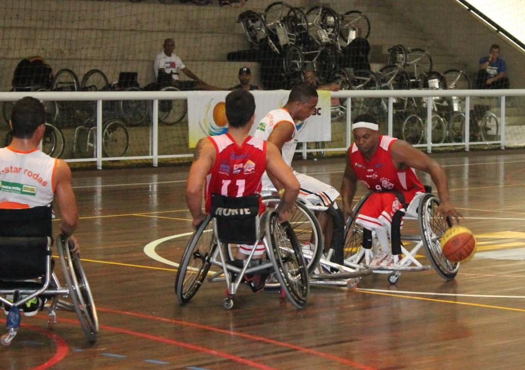 América Tigres estreia com vitória no Campeonato Brasileiro de Basquete Paralímpico