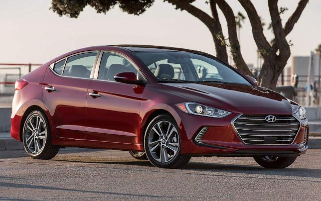 Novo Hyundai Elantra 2017 foi apresentado no Salão de Los Angeles