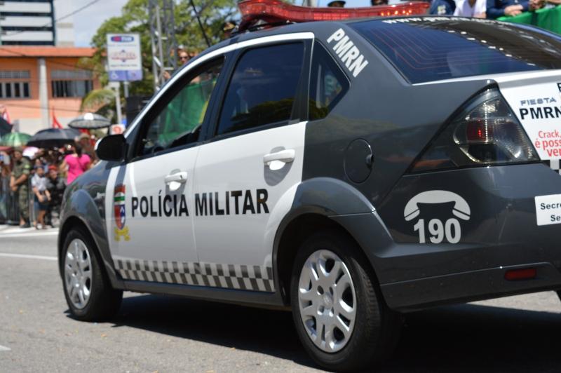 Polícia Militar recupera veículo roubado em Currais Novos