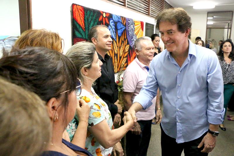 Robinson Faria visita Detran e confere andamento dos serviços prestados pelo órgão