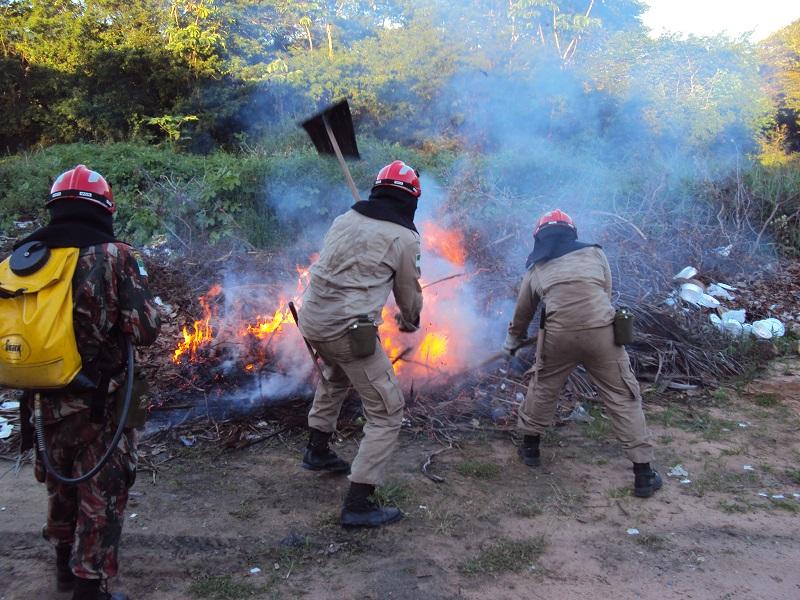 Bombeiros registram 984 incêndios na Região Metropolitana de Natal