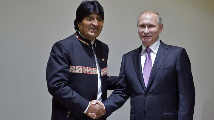 Bolívia e Rússia fazem acordo de cooperação técnico-militar