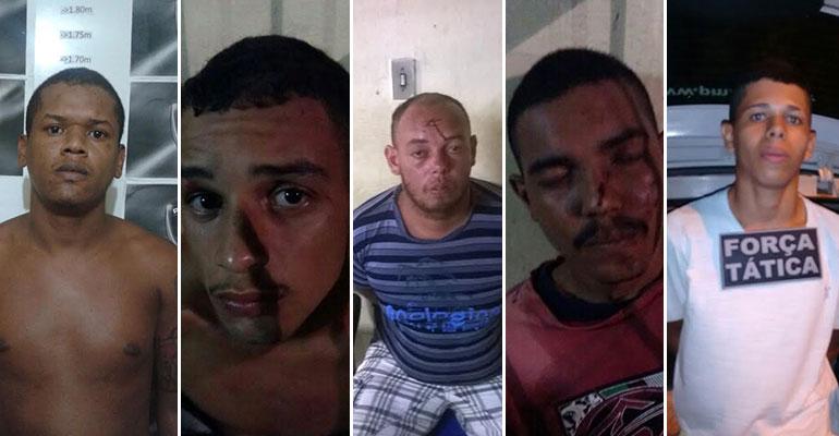 Operação Finados: PM prende cinco pessoas em São José de Mipibu